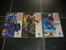 Tempus Fugitive - Ken Steacy - Books 1 - 3 DC Comics 1990 Prestige