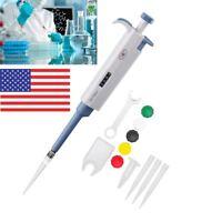 100-1000μl Micro Single Channel Pipette Liquid Transfer Pipet Pen US