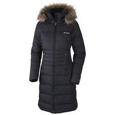 Columbia Womens Varaluck III Long Down Jacket Winter Parka Coat Black XS S M