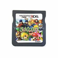 510 in 1 Video Game Cartridge Card Compilation for Nintendo DS 3DS 2DS Consoles