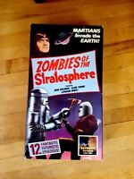 ZOMBIES OF THE STRATOSPHERE Martian VHS Sci Fi Rocketman Leonard NIMOY 1952 Show