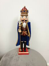 38cm Christmas Nutcracker Soldier Advent Calendar Decor Xmas Ornament Gifts