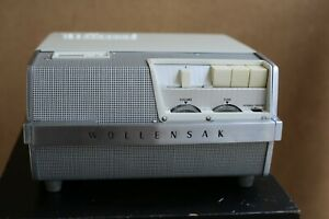 Vintage Wollensak Model T-1500 Magnetic Tape Recorder with Case and Accessories
