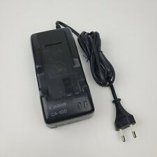 Canon CA-100E Camcorder battery power charger cord adapter w/ European plug
