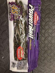 berkley max scent flat worm Goby bulk pack 30 count(3regular bag count)