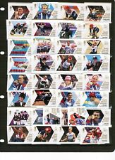Great Britain 2012 Paralympic Games set of 34 1st Class Stamps @ less than face