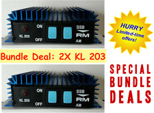2x KL 203 Mobile Linear Amplifier by R.M.-- Bundle an Save!