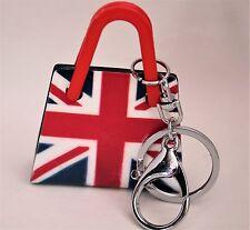 Stylish Fashion Acrylic Handbag Charm Key-ring Gift Present England Souvenir