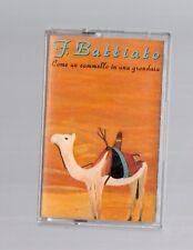 musicassetta - paolo conte - franco battiato - come un cammello in una grondaia