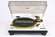 Technics SL-1200 LTD (Customised WHITE/GOLD color)