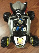 Fisher Price Rescue Heros Police Dune Buggy & 5 VHS video w 2 Episodes on each