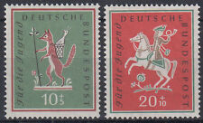 Germany Bund BRD 1958 ** Mi.286/87 Musik Music | Volkslieder Folksongs