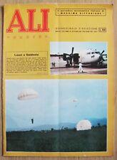ALI NUOVE N.20 del 1962 - Rivista di AVIAZIONE AERONAUTICA* - OTTIMA con Cedole