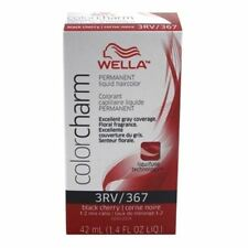 Wella Color Charm Liquid Haircolor 367/3Rv Black Cherry, 1.4 oz