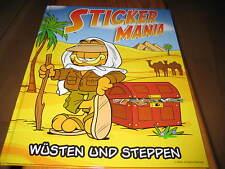 Spar Stickermania 2, Wüsten und Steppen, leeres Album + alle 200 Sticker