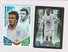 Match Attax ROBBIE KEANE& DAVID BECKHAM  Limited Edition
