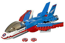 NEW LEGO CAPTAIN AMERICA'S JET 76076 no minifigs pursuit plane vehicle