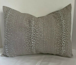 Pillow Cover Antelope Fawn Animal Print Custom Made CHOOSE Size Many Sizes