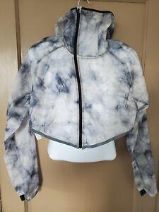 Nike Tech Pack Hooded Running Jacket- L Black Grey- Mens  BV5679-094