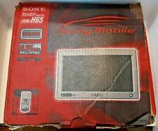 "Sony Monitor XVM-H65 Headrest & Connection Box Set 6.5"" W/ Remote Auto Vehicle"