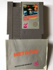 Nes Metroid With Instructions