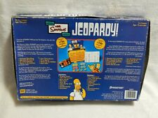 Simpsons Jeopardy board game NOT COMPLETE USED