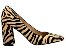 Marc Fisher LTD Razilily Genuine Calf Hair Zebra Slip On Pumps Sz 6 MSRP$175