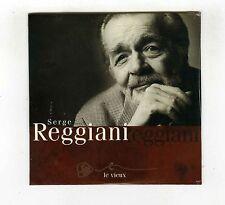 CD SINGLE PROMO (NEUF) SERGE REGGIANI LE VIEUX