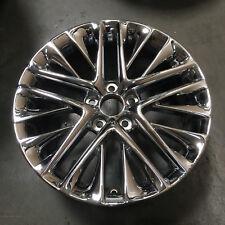 "(1) 18"" Lexus OEM Chrome Wheel Rim ES350 2013-17 74278 18x7.5 20 10-Double Spoke"