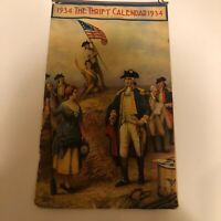 1934 Troy National City Bank of Troy, NY Patriotic Advertising Calendar/Poster
