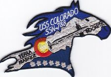 USS Colorado SSN 788-mini - Submarine - Bc Patch - C7194