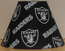 Oakland Raiders Fabric Lamp Shade ONLY lampshade NFL Cotton New handmade