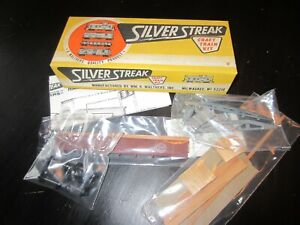 h o trains: New in box SILVER STREAL metal & wood SOUTHERN PACIFIC gondola kit