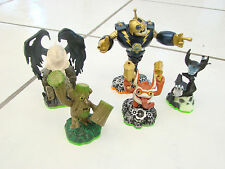 Skylanders Spyro's Adventure lot of 5, Darklight Crypt Legendary Bouncer Hex+