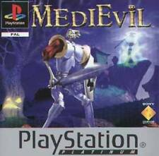 Medievil (Platinum) PS1 Fun Game Playstation 1 1998