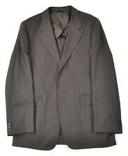 PS PAUL SMITH Gorgeous Brown Bold Stripe 1/4 Lined Sportcoat Blazer Jacket 40