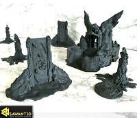 Underworld Terrain Set - The Nightbringer & Old Ones Scenery - D&D Warhammer 40k
