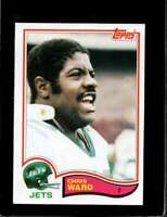 1982 TOPPS #184 CHRIS WARD EXMT NY JETS  *X4240