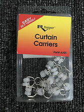 RV Designer Collection A101 Curtain Carriers 14 Pack