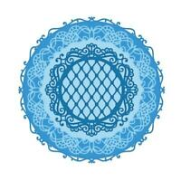 Heartfelt Creations Rounded Window Frame Die Decorative Doily Doilie Frames