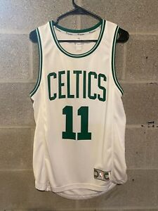 Kyrie Irving 11 Boston Celtics White w/ Green Jersey NBA Fanatics Sz  Small