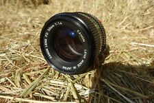 Canon Lens FD 50mm F1.4