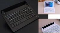 """For below 8"""" phone tablet Bluetooth Keyboard wireless Dock Stand Holder Portable"""