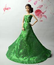 Fashion Royalty Princess Robe/vêtements/robe pour poupée Barbie S531U