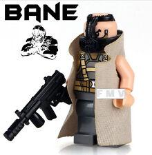 Bane Minifigure The Dark Knight Rises Movie Custom Mini Figure Fits Lego