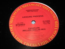 LEISURE PROCESS Cashflow 12 inch Single Vinyl Record  promo
