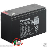 Panasonic Bleigel - Akku LC-R127R2PG VdS-Zulassung 12V 7200 mAh FG20721 NP7-12