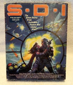 ATARI ST SDI Interactive Movie 520/1040/4160/STE/Falcon/TT030/Mega  S-D-I S.D.I.