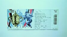 RUGBY WORLD CUP MEMORABILIA - Ticket Australia v Fiji 23/09/2015 Player 2 Blue