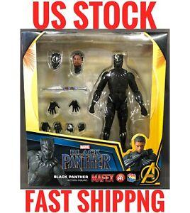 (US Stock) Mafex Madicom Marvel Black Panther No.091 Authenic Action Figure